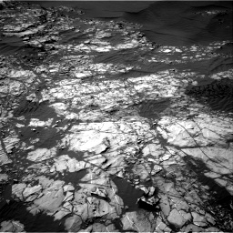 Nasa's Mars rover Curiosity acquired this image using its Right Navigation Camera on Sol 1248, at drive 1682, site number 52
