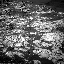 Nasa's Mars rover Curiosity acquired this image using its Right Navigation Camera on Sol 1248, at drive 1688, site number 52