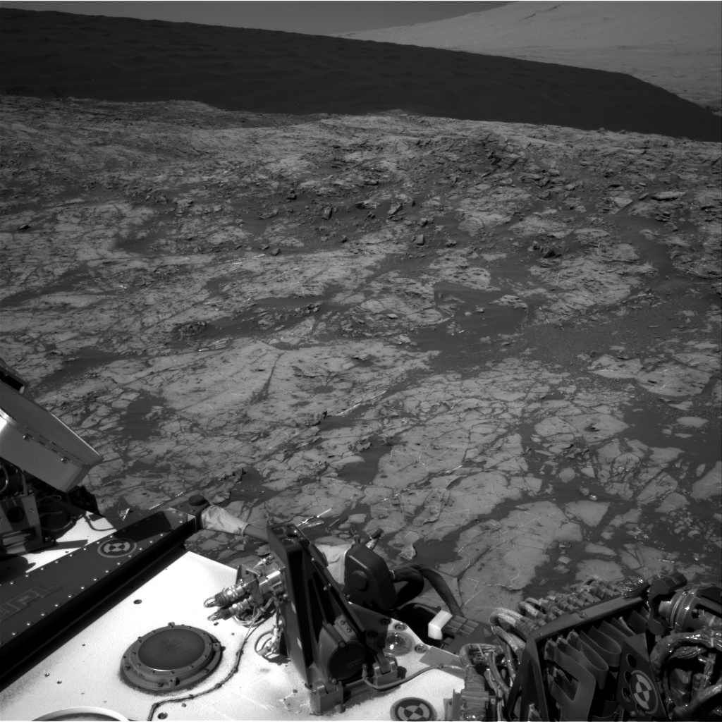 Nasa's Mars rover Curiosity acquired this image using its Right Navigation Camera on Sol 1248, at drive 1722, site number 52