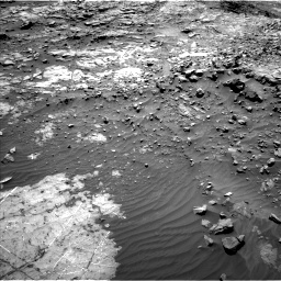 Nasa's Mars rover Curiosity acquired this image using its Left Navigation Camera on Sol 1249, at drive 1806, site number 52