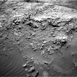 Nasa's Mars rover Curiosity acquired this image using its Left Navigation Camera on Sol 1249, at drive 1812, site number 52