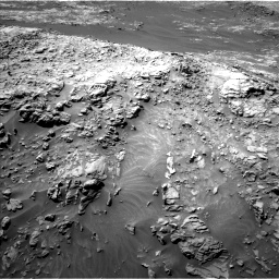 Nasa's Mars rover Curiosity acquired this image using its Left Navigation Camera on Sol 1249, at drive 1824, site number 52