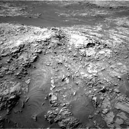 Nasa's Mars rover Curiosity acquired this image using its Left Navigation Camera on Sol 1249, at drive 1830, site number 52