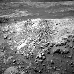 Nasa's Mars rover Curiosity acquired this image using its Left Navigation Camera on Sol 1249, at drive 1848, site number 52