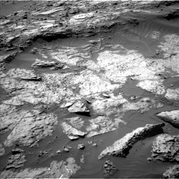 Nasa's Mars rover Curiosity acquired this image using its Left Navigation Camera on Sol 1249, at drive 1992, site number 52