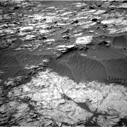 Nasa's Mars rover Curiosity acquired this image using its Left Navigation Camera on Sol 1249, at drive 2022, site number 52