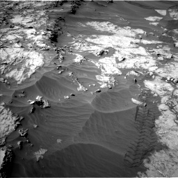 Nasa's Mars rover Curiosity acquired this image using its Left Navigation Camera on Sol 1249, at drive 2064, site number 52