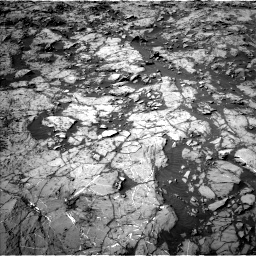 Nasa's Mars rover Curiosity acquired this image using its Left Navigation Camera on Sol 1249, at drive 2148, site number 52