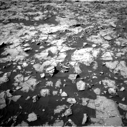 Nasa's Mars rover Curiosity acquired this image using its Left Navigation Camera on Sol 1249, at drive 2190, site number 52