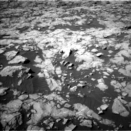 Nasa's Mars rover Curiosity acquired this image using its Left Navigation Camera on Sol 1249, at drive 2202, site number 52