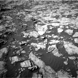 Nasa's Mars rover Curiosity acquired this image using its Left Navigation Camera on Sol 1249, at drive 2220, site number 52
