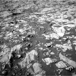 Nasa's Mars rover Curiosity acquired this image using its Left Navigation Camera on Sol 1249, at drive 2226, site number 52