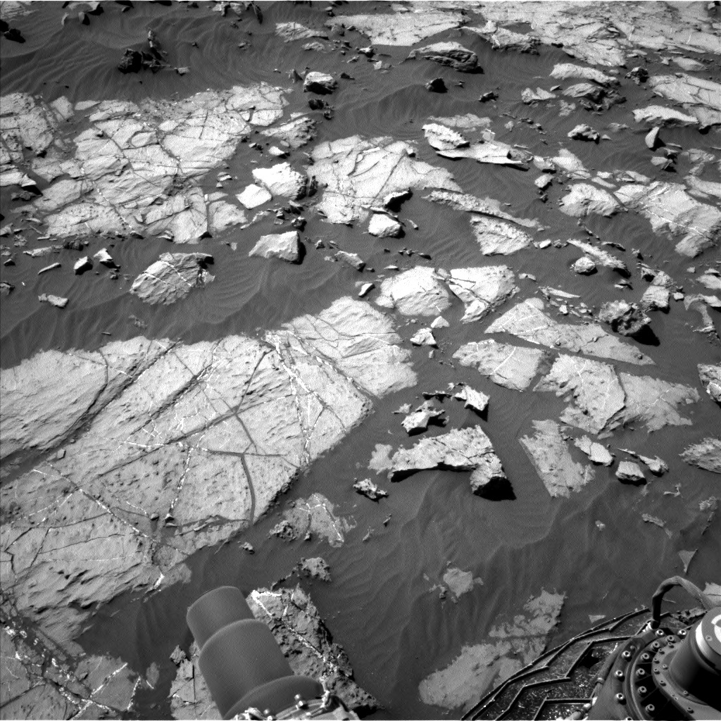 NASA's Mars rover Curiosity acquired this image using its Left Navigation Camera (Navcams) on Sol 1249