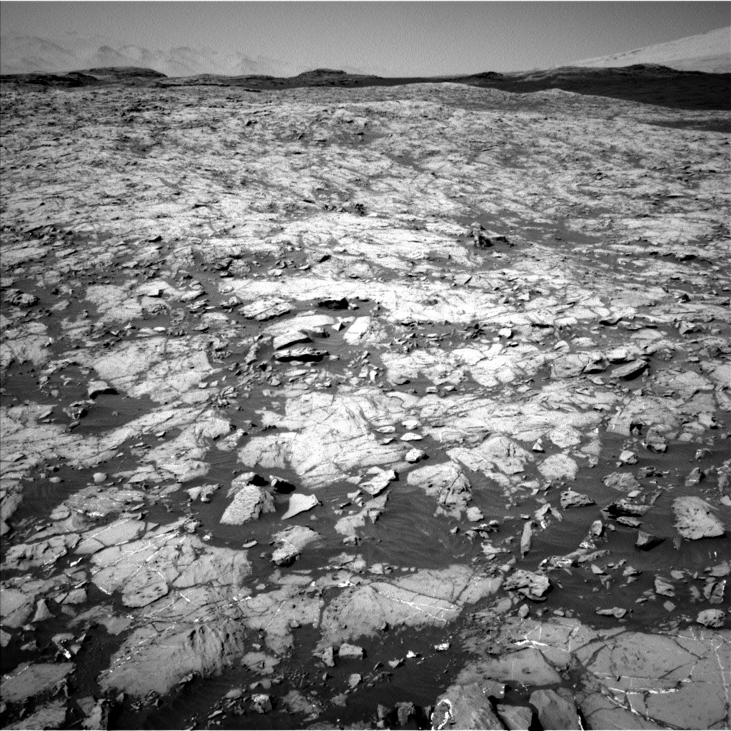 Nasa's Mars rover Curiosity acquired this image using its Left Navigation Camera on Sol 1249, at drive 2262, site number 52