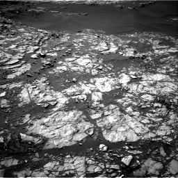 Nasa's Mars rover Curiosity acquired this image using its Right Navigation Camera on Sol 1249, at drive 1758, site number 52