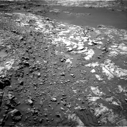 Nasa's Mars rover Curiosity acquired this image using its Right Navigation Camera on Sol 1249, at drive 1770, site number 52