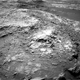 Nasa's Mars rover Curiosity acquired this image using its Right Navigation Camera on Sol 1249, at drive 1782, site number 52
