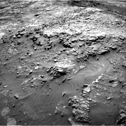 NASA's Mars rover Curiosity acquired this image using its Right Navigation Cameras (Navcams) on Sol 1249