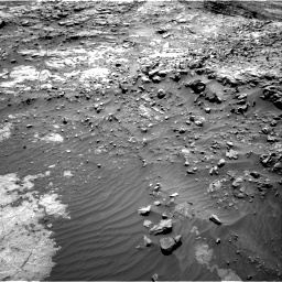 Nasa's Mars rover Curiosity acquired this image using its Right Navigation Camera on Sol 1249, at drive 1806, site number 52