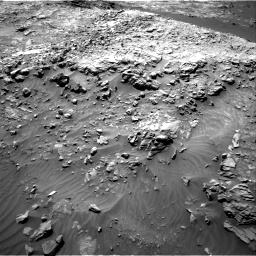 Nasa's Mars rover Curiosity acquired this image using its Right Navigation Camera on Sol 1249, at drive 1812, site number 52