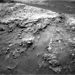 Nasa's Mars rover Curiosity acquired this image using its Right Navigation Camera on Sol 1249, at drive 1818, site number 52