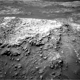 Nasa's Mars rover Curiosity acquired this image using its Right Navigation Camera on Sol 1249, at drive 1842, site number 52