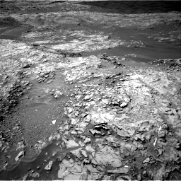 Nasa's Mars rover Curiosity acquired this image using its Right Navigation Camera on Sol 1249, at drive 1872, site number 52