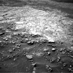 Nasa's Mars rover Curiosity acquired this image using its Right Navigation Camera on Sol 1249, at drive 1890, site number 52