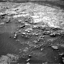 Nasa's Mars rover Curiosity acquired this image using its Right Navigation Camera on Sol 1249, at drive 1896, site number 52
