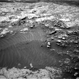 Nasa's Mars rover Curiosity acquired this image using its Right Navigation Camera on Sol 1249, at drive 1902, site number 52
