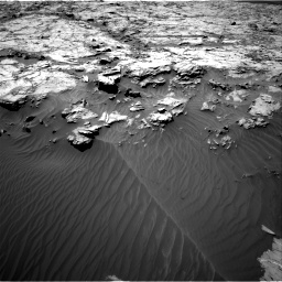 Nasa's Mars rover Curiosity acquired this image using its Right Navigation Camera on Sol 1249, at drive 1920, site number 52
