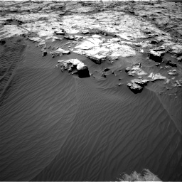 Nasa's Mars rover Curiosity acquired this image using its Right Navigation Camera on Sol 1249, at drive 1926, site number 52
