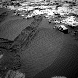 Nasa's Mars rover Curiosity acquired this image using its Right Navigation Camera on Sol 1249, at drive 1932, site number 52