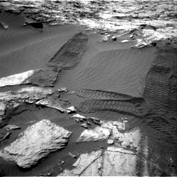Nasa's Mars rover Curiosity acquired this image using its Right Navigation Camera on Sol 1249, at drive 1944, site number 52