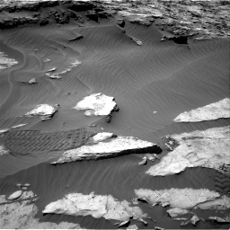 Nasa's Mars rover Curiosity acquired this image using its Right Navigation Camera on Sol 1249, at drive 1962, site number 52