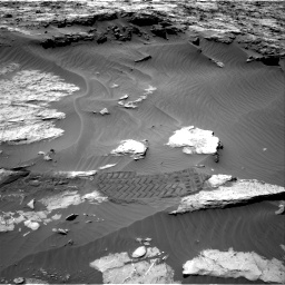 Nasa's Mars rover Curiosity acquired this image using its Right Navigation Camera on Sol 1249, at drive 1968, site number 52