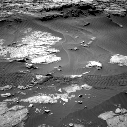 Nasa's Mars rover Curiosity acquired this image using its Right Navigation Camera on Sol 1249, at drive 1974, site number 52
