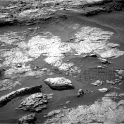 Nasa's Mars rover Curiosity acquired this image using its Right Navigation Camera on Sol 1249, at drive 1986, site number 52