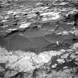 Nasa's Mars rover Curiosity acquired this image using its Right Navigation Camera on Sol 1249, at drive 2016, site number 52
