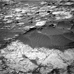 Nasa's Mars rover Curiosity acquired this image using its Right Navigation Camera on Sol 1249, at drive 2022, site number 52