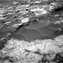 Nasa's Mars rover Curiosity acquired this image using its Right Navigation Camera on Sol 1249, at drive 2034, site number 52