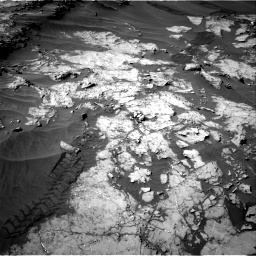 Nasa's Mars rover Curiosity acquired this image using its Right Navigation Camera on Sol 1249, at drive 2058, site number 52