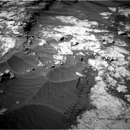 Nasa's Mars rover Curiosity acquired this image using its Right Navigation Camera on Sol 1249, at drive 2064, site number 52
