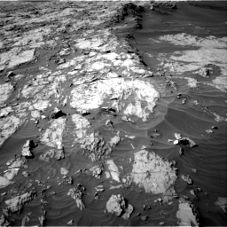 Nasa's Mars rover Curiosity acquired this image using its Right Navigation Camera on Sol 1249, at drive 2076, site number 52