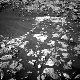 Nasa's Mars rover Curiosity acquired this image using its Right Navigation Camera on Sol 1249, at drive 2112, site number 52