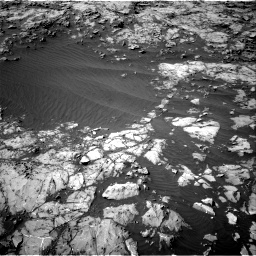 Nasa's Mars rover Curiosity acquired this image using its Right Navigation Camera on Sol 1249, at drive 2118, site number 52