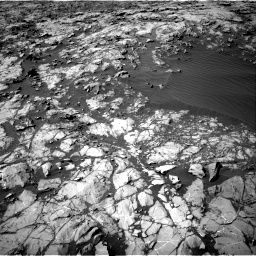 Nasa's Mars rover Curiosity acquired this image using its Right Navigation Camera on Sol 1249, at drive 2136, site number 52
