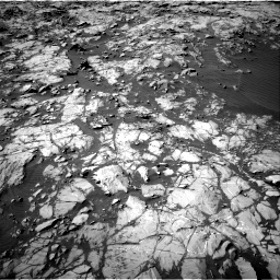 Nasa's Mars rover Curiosity acquired this image using its Right Navigation Camera on Sol 1249, at drive 2142, site number 52