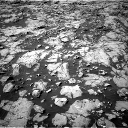 Nasa's Mars rover Curiosity acquired this image using its Right Navigation Camera on Sol 1249, at drive 2184, site number 52