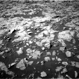 Nasa's Mars rover Curiosity acquired this image using its Right Navigation Camera on Sol 1249, at drive 2196, site number 52